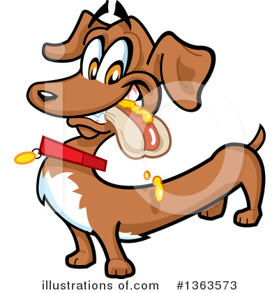 Dog Clipart #1363573 by Clip Art Mascots