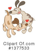 Dog Clipart #1377533 by Zooco