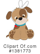 Royalty-Free (RF) Dog Clipart Illustration #1381773