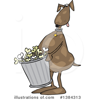 Dog Clipart #1384313 by djart