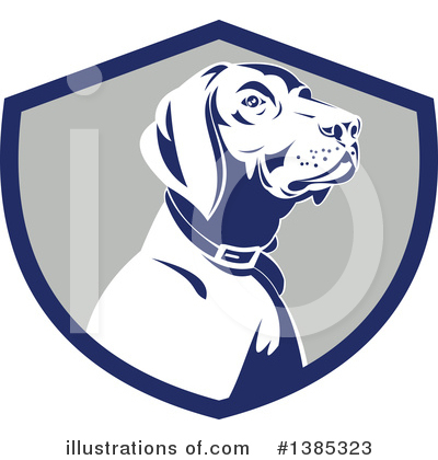Pointer Dog Clipart #1385323 by patrimonio