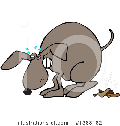 Dog Clipart #1388182 by djart