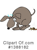 Royalty-Free (RF) Dog Clipart Illustration #1388182