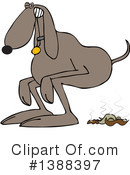 Dog Clipart #1388397 by djart