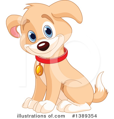 Dog Clipart #1389354 by Pushkin