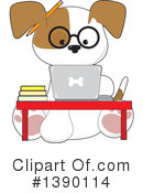 Royalty-Free (RF) Dog Clipart Illustration #1390114