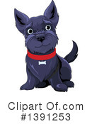 Royalty-Free (RF) Dog Clipart Illustration #1391253