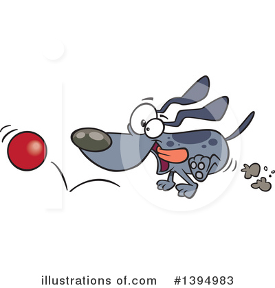 Dog Clipart #1394983 by toonaday