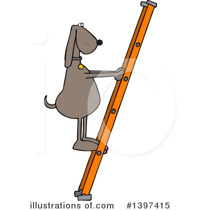 Ladder Clipart #1397415 by djart