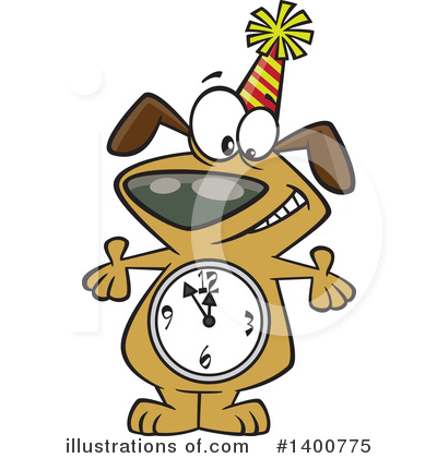 Dog Clipart #1400775 by toonaday