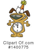 Royalty-Free (RF) Dog Clipart Illustration #1400775