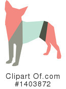 Dog Clipart #1403872 by Cherie Reve