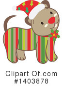 Dog Clipart #1403878 by Cherie Reve