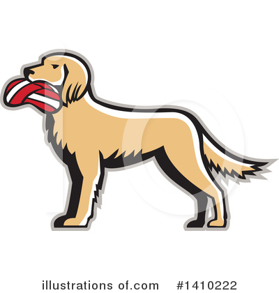 Dog Clipart #1410222 by patrimonio