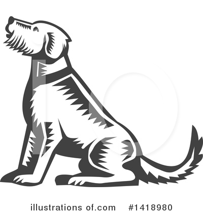 Dog Clipart #1418980 by patrimonio