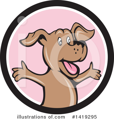 Dog Clipart #1419295 by patrimonio