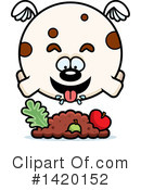 Dog Clipart #1420152 by Cory Thoman