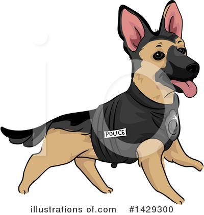 Dog Clipart #1429300 by BNP Design Studio