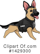 Royalty-Free (RF) Dog Clipart Illustration #1429300