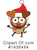 Dog Clipart #1436494 by Zooco