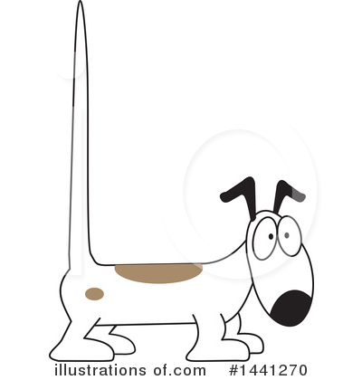 Dog Clipart #1441270 by Johnny Sajem