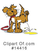 Royalty-Free (RF) Dog Clipart Illustration #14416