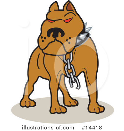 Pit Bull Clipart #14418 by Andy Nortnik