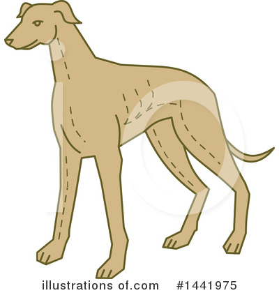 Greyhound Clipart #1441975 by patrimonio