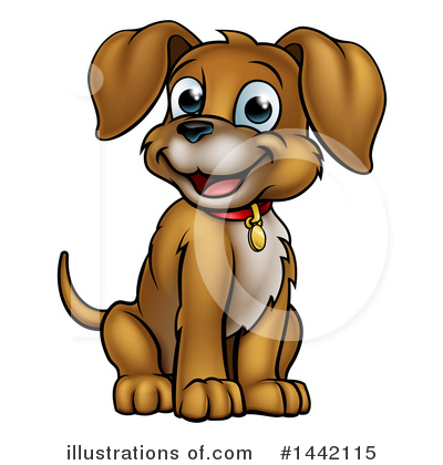 Pets Clipart #1442115 by AtStockIllustration