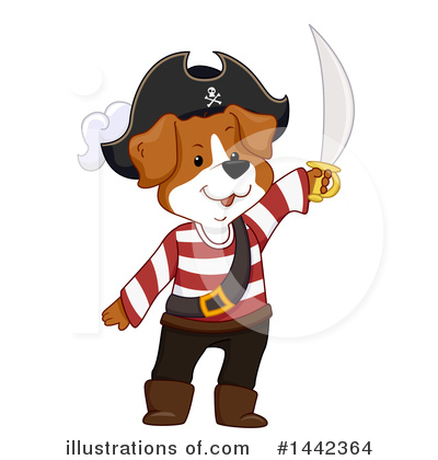 Pirate Clipart #1442364 by BNP Design Studio