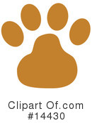 Royalty-Free (RF) Dog Clipart Illustration #14430