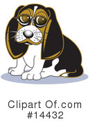 Royalty-Free (RF) Dog Clipart Illustration #14432