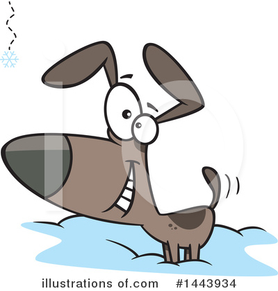 Royalty-Free (RF) Dog Clipart Illustration by toonaday - Stock Sample #1443934