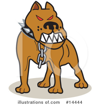 Pit Bull Clipart #14444 by Andy Nortnik