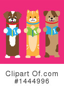 Royalty-Free (RF) Dog Clipart Illustration #1444996
