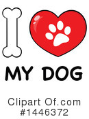 Dog Clipart #1446372 by Hit Toon