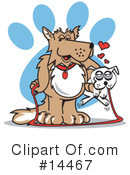Royalty-Free (RF) Dog Clipart Illustration #14467