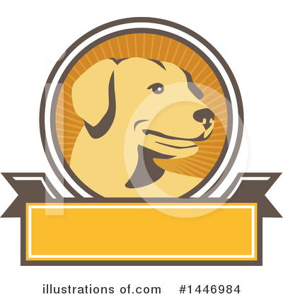 Dog Clipart #1446984 by patrimonio
