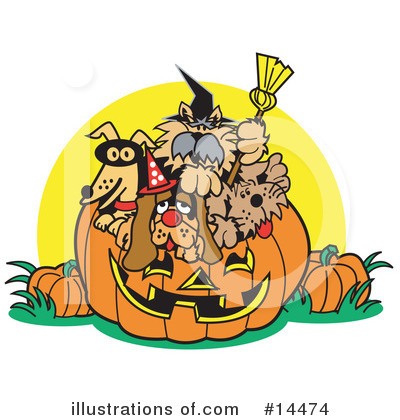 Halloween Clipart #14474 by Andy Nortnik