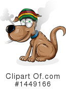 Royalty-Free (RF) Dog Clipart Illustration #1449166
