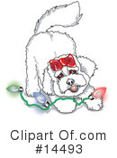 Royalty-Free (RF) Dog Clipart Illustration #14493
