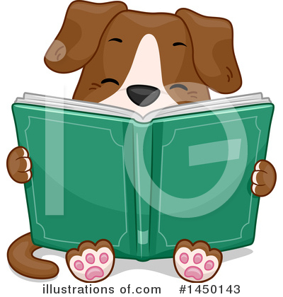 Royalty-Free (RF) Dog Clipart Illustration by BNP Design Studio - Stock Sample #1450143