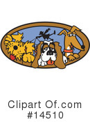 Royalty-Free (RF) Dog Clipart Illustration #14510