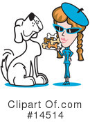 Royalty-Free (RF) Dog Clipart Illustration #14514