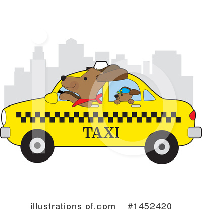 Taxi Clipart #1452420 by Maria Bell