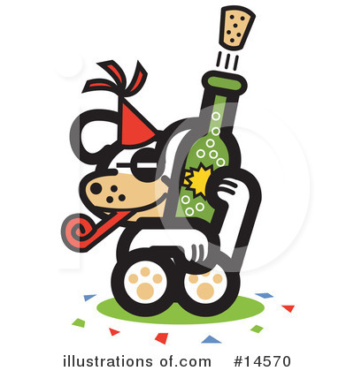 New Year Clipart #14570 by Andy Nortnik
