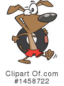 Dog Clipart #1458722 by toonaday