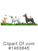 Dog Clipart #1463845 by Graphics RF