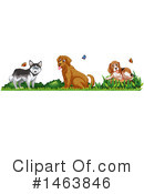 Dog Clipart #1463846 by Graphics RF