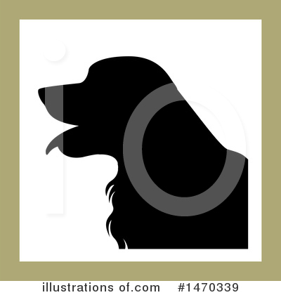 Dog Clipart #1470339 by Lal Perera
